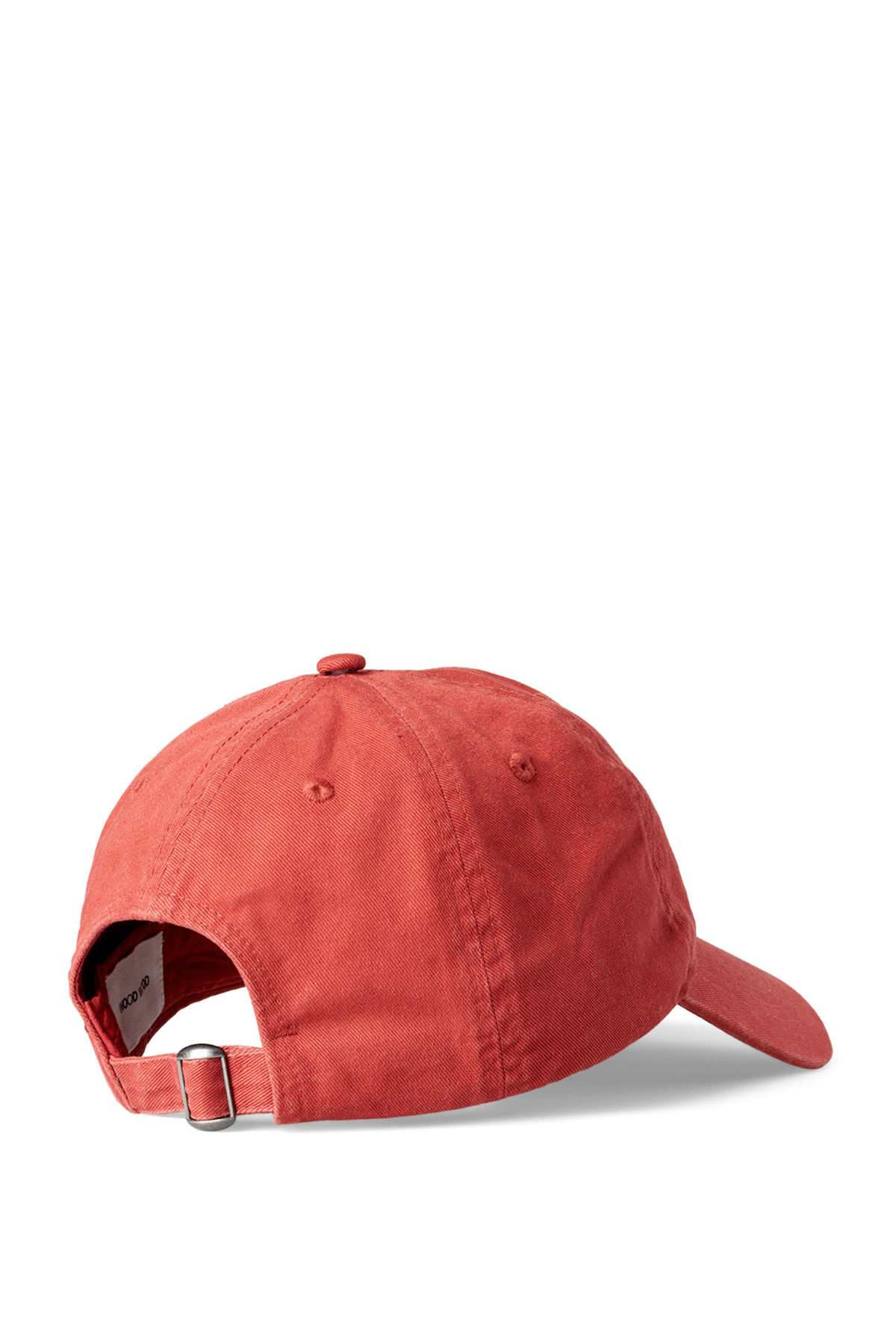 Back image of Weekday low profile cap in red