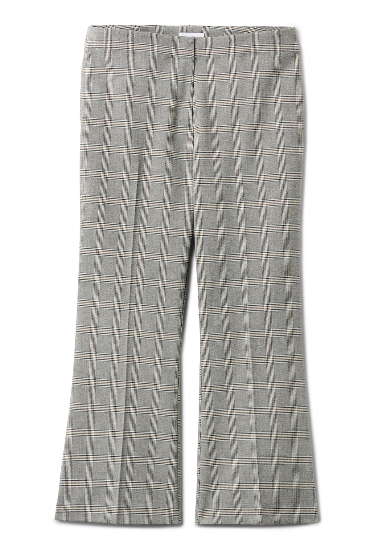 Front image of Weekday fairy trousers in brown