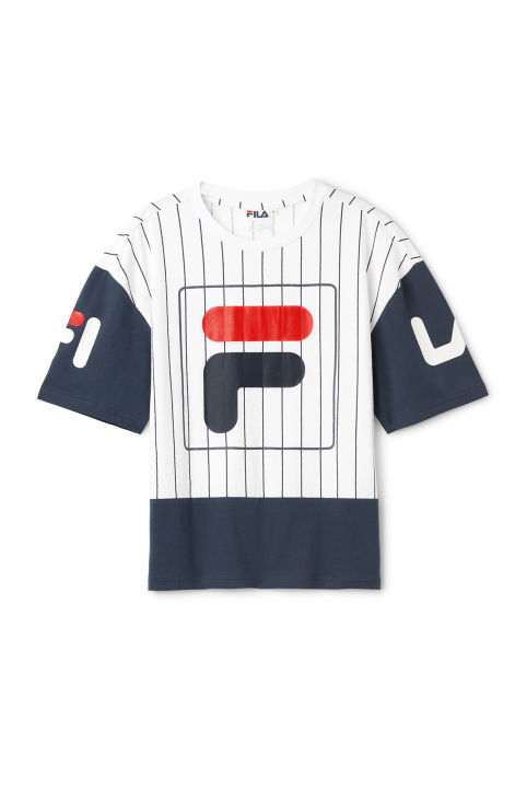 FILA Late Printed Cropped Top