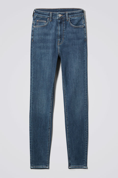 Weekday Body High Blue Coast Jeans