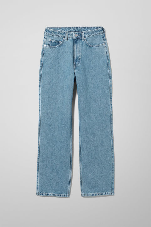 Weekday Row Sky Blue Jeans