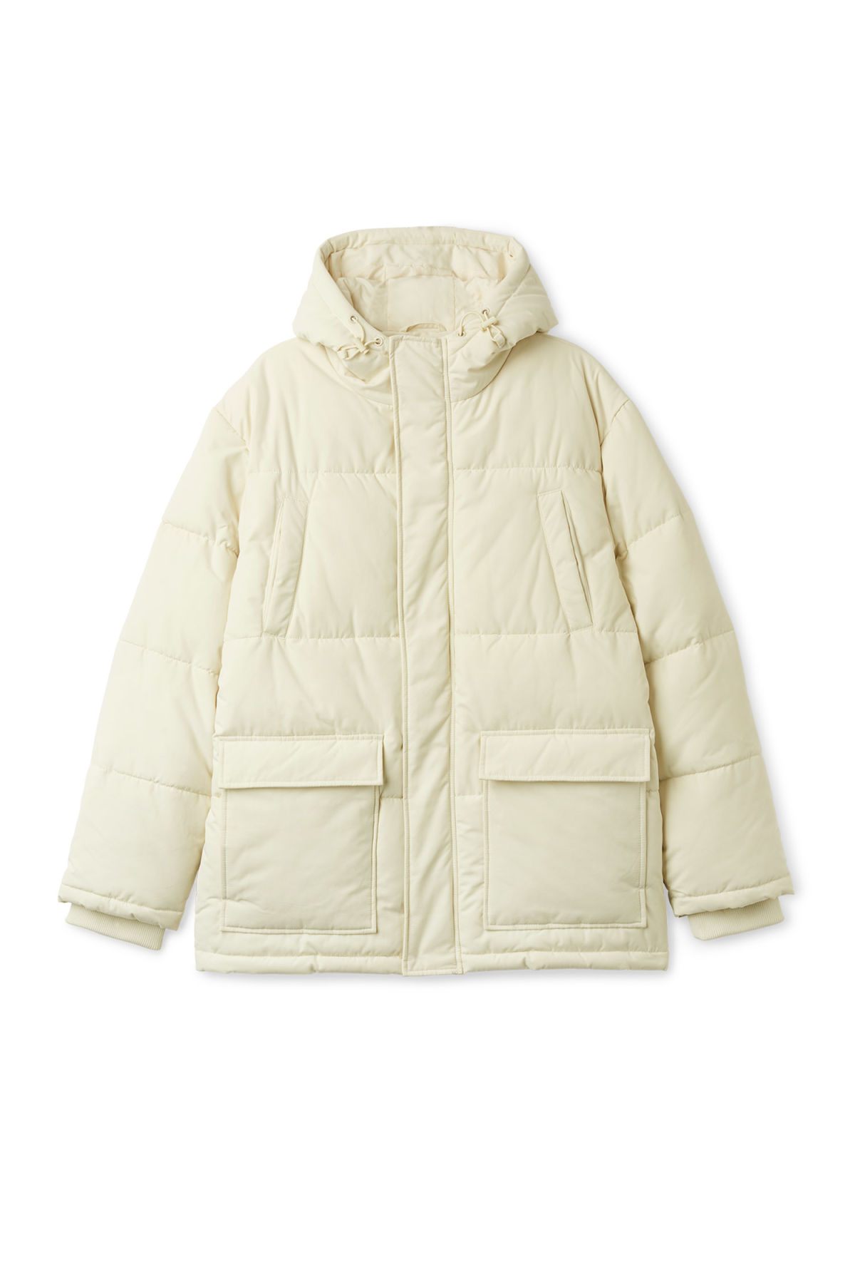 Front image of Weekday jared jacket in beige