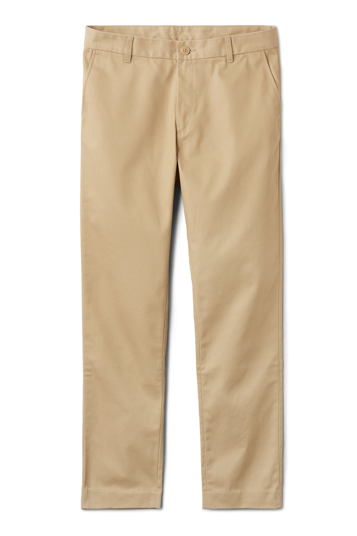 Front image of Weekday forest chinos in beige