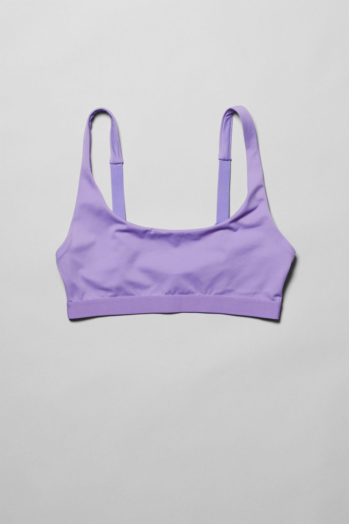 Front image of Weekday cay swim top in purple