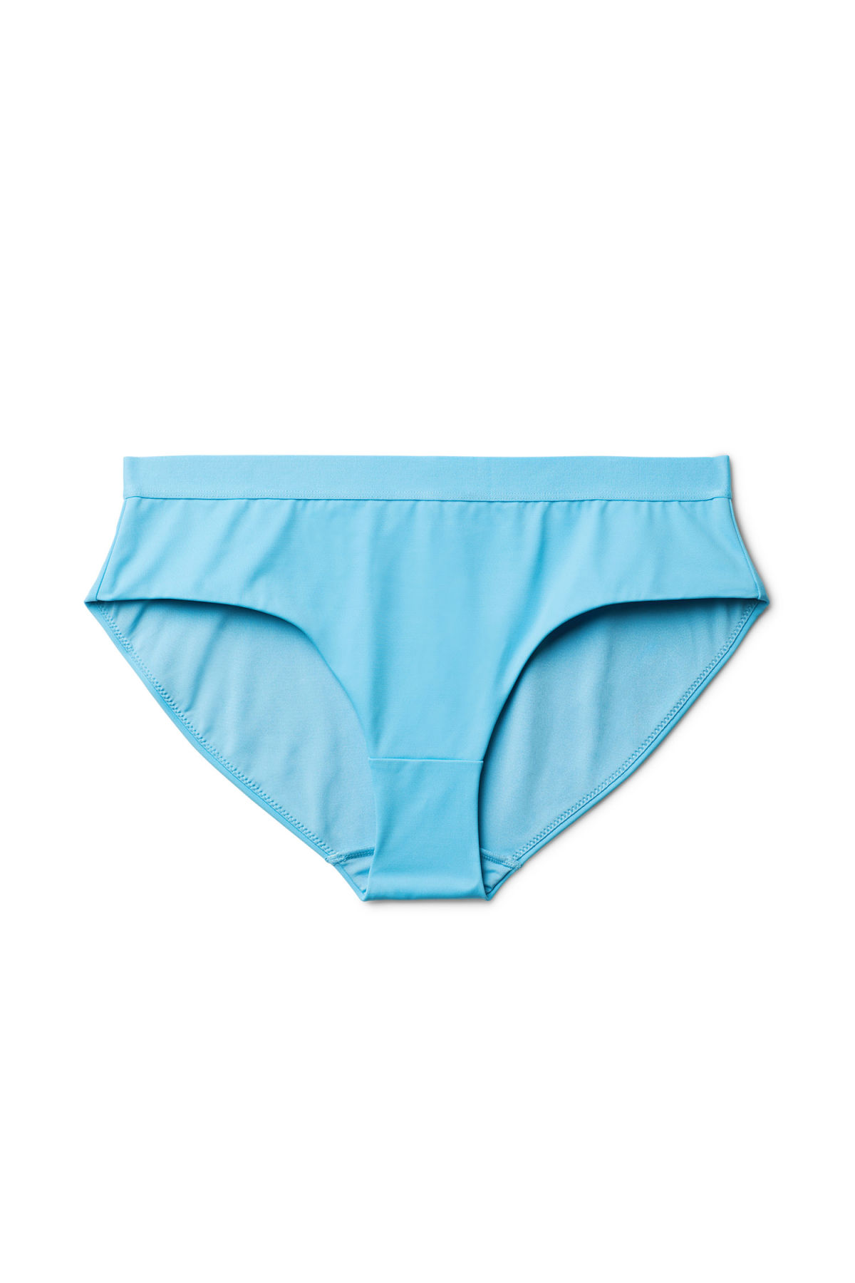 Front image of Weekday cay swim bottoms in blue
