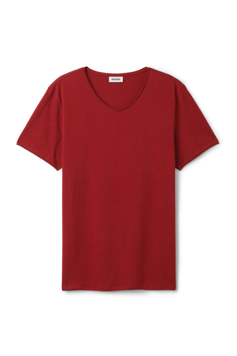 Weekday Dark V-Neck T-Shirt