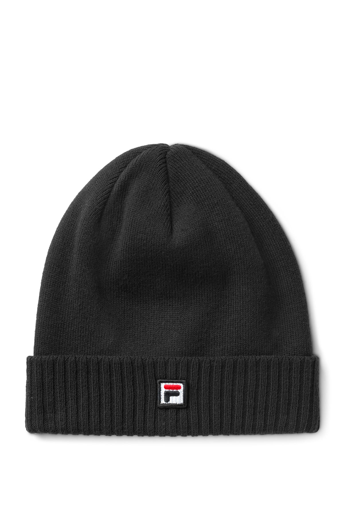 Front image of Weekday  beanie in black