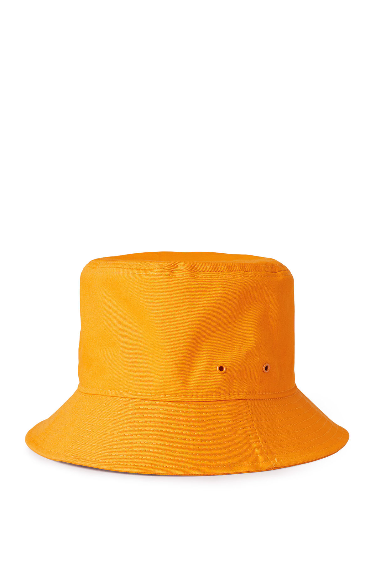 Front image of Weekday attitude bucket hat in yellow e97f32a14c0
