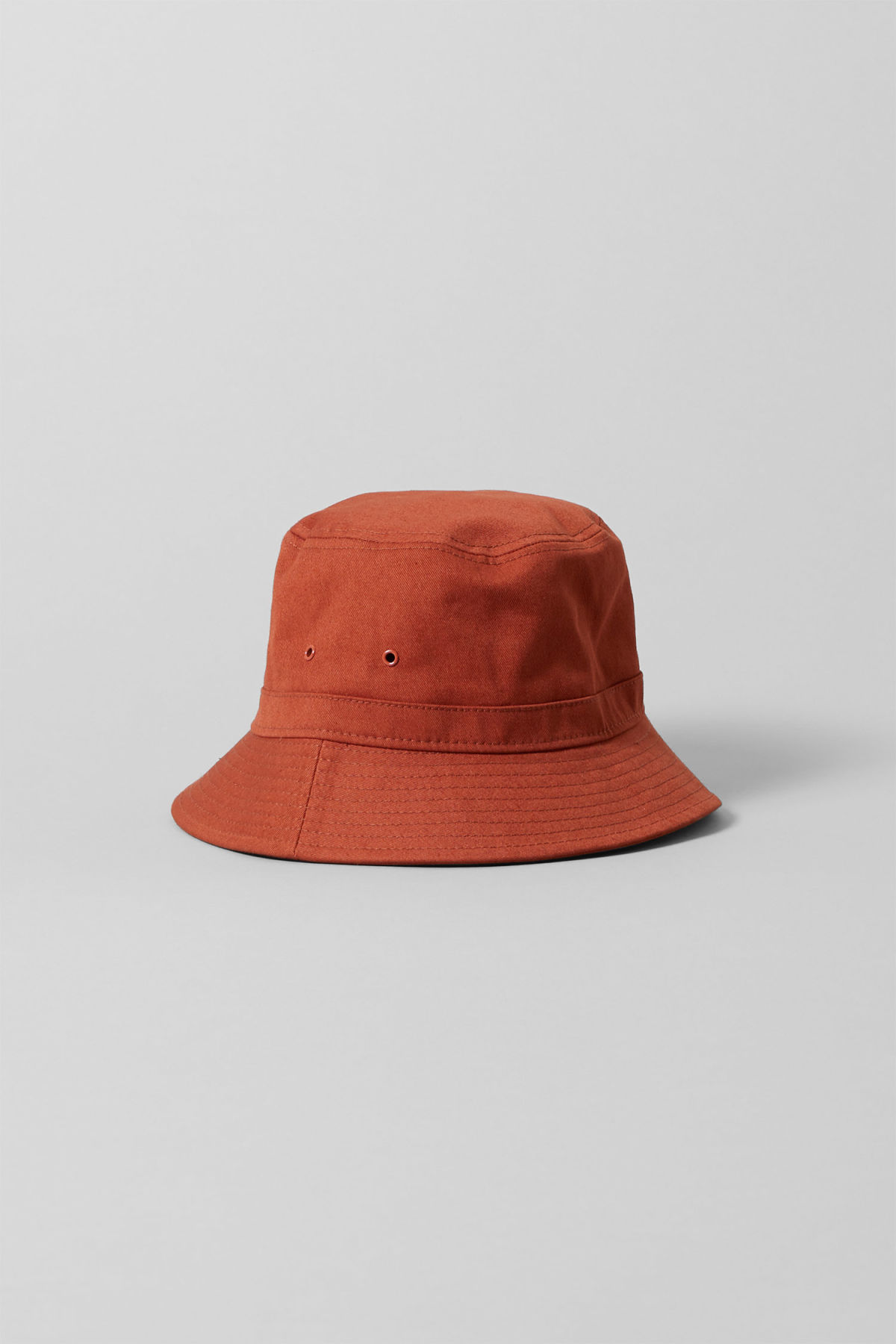 7d0dd6a0eb7 Front image of Weekday attitude bucket hat in orange