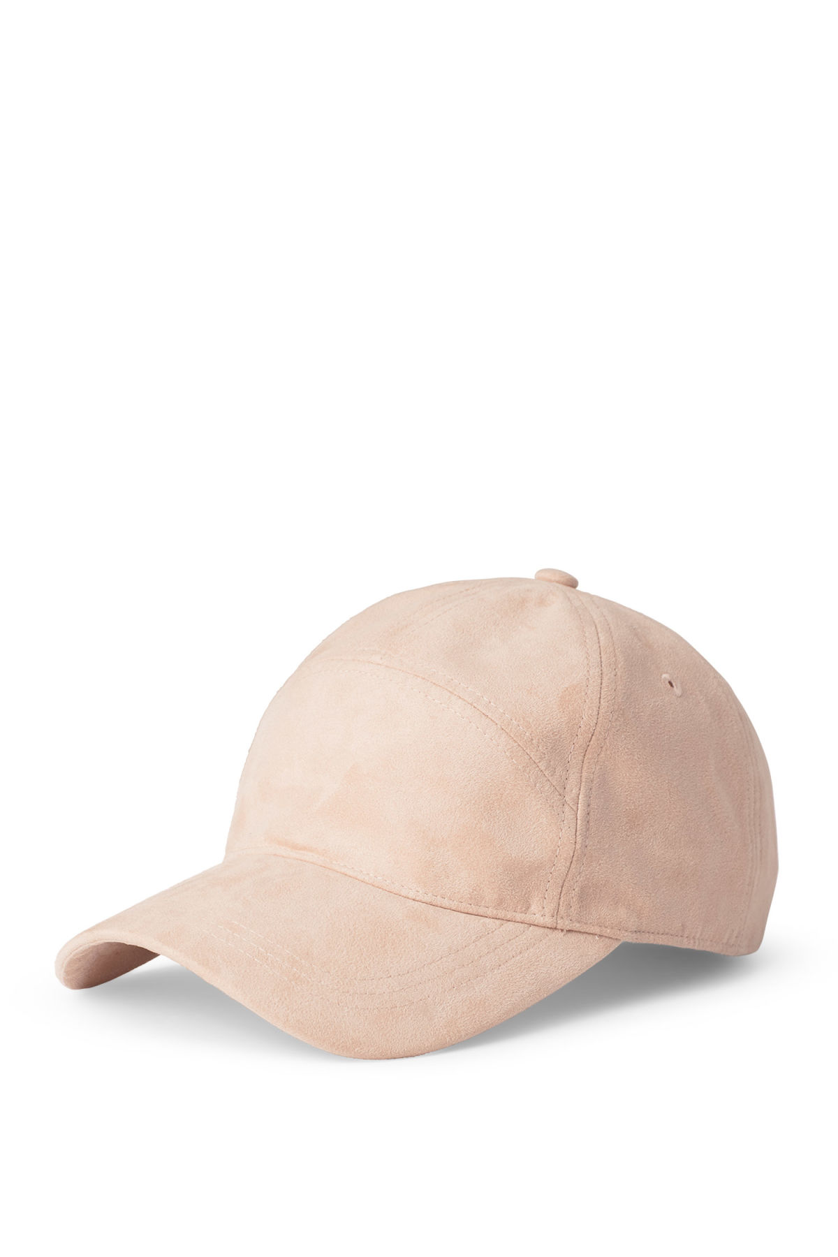 Front image of Weekday hope cap  in beige