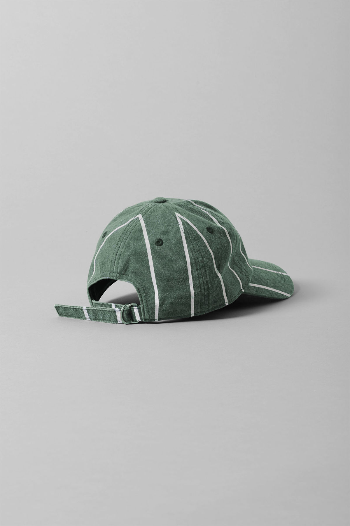 Back image of Weekday cusp cap  in green