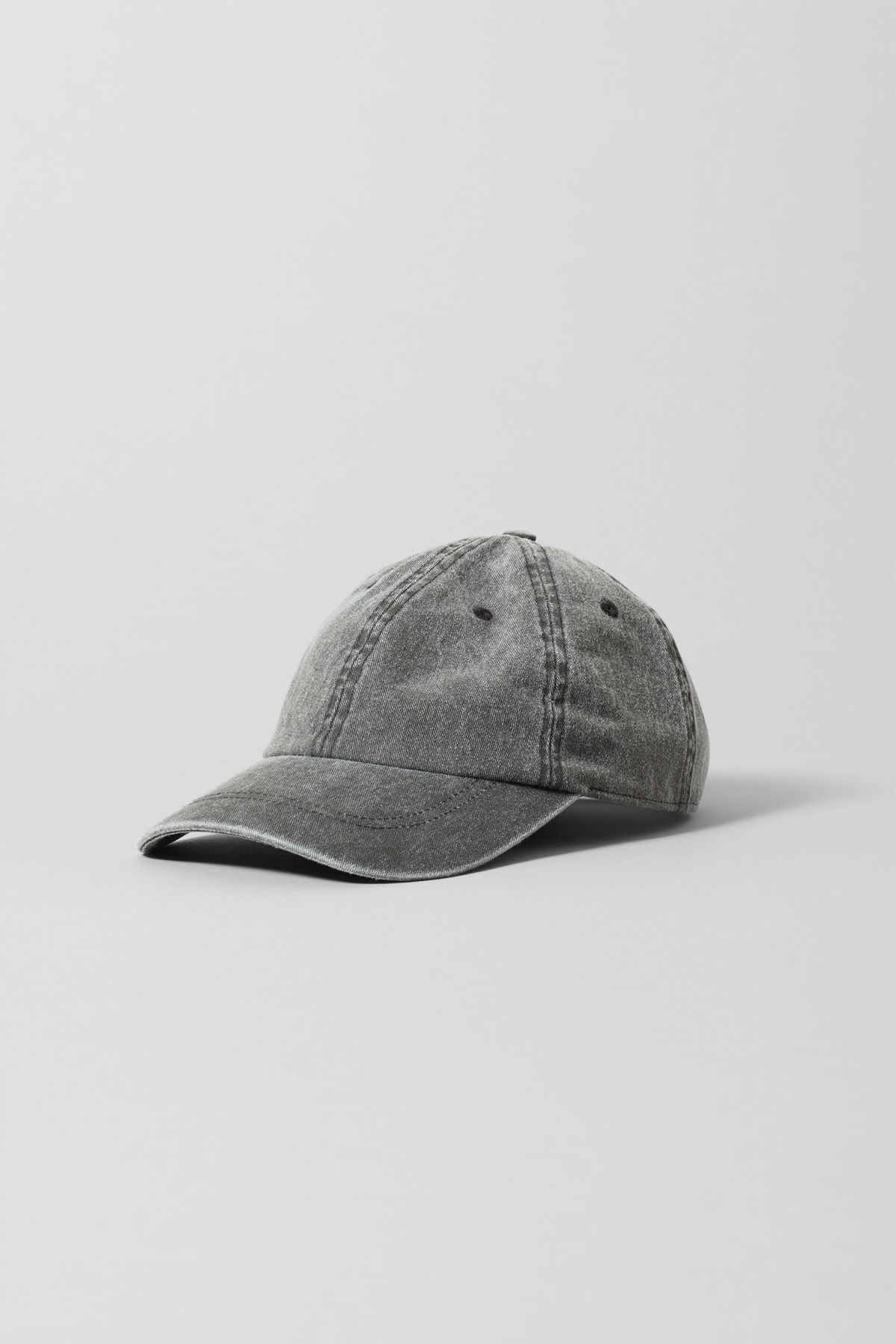 Front image of Weekday cusp cap  in black