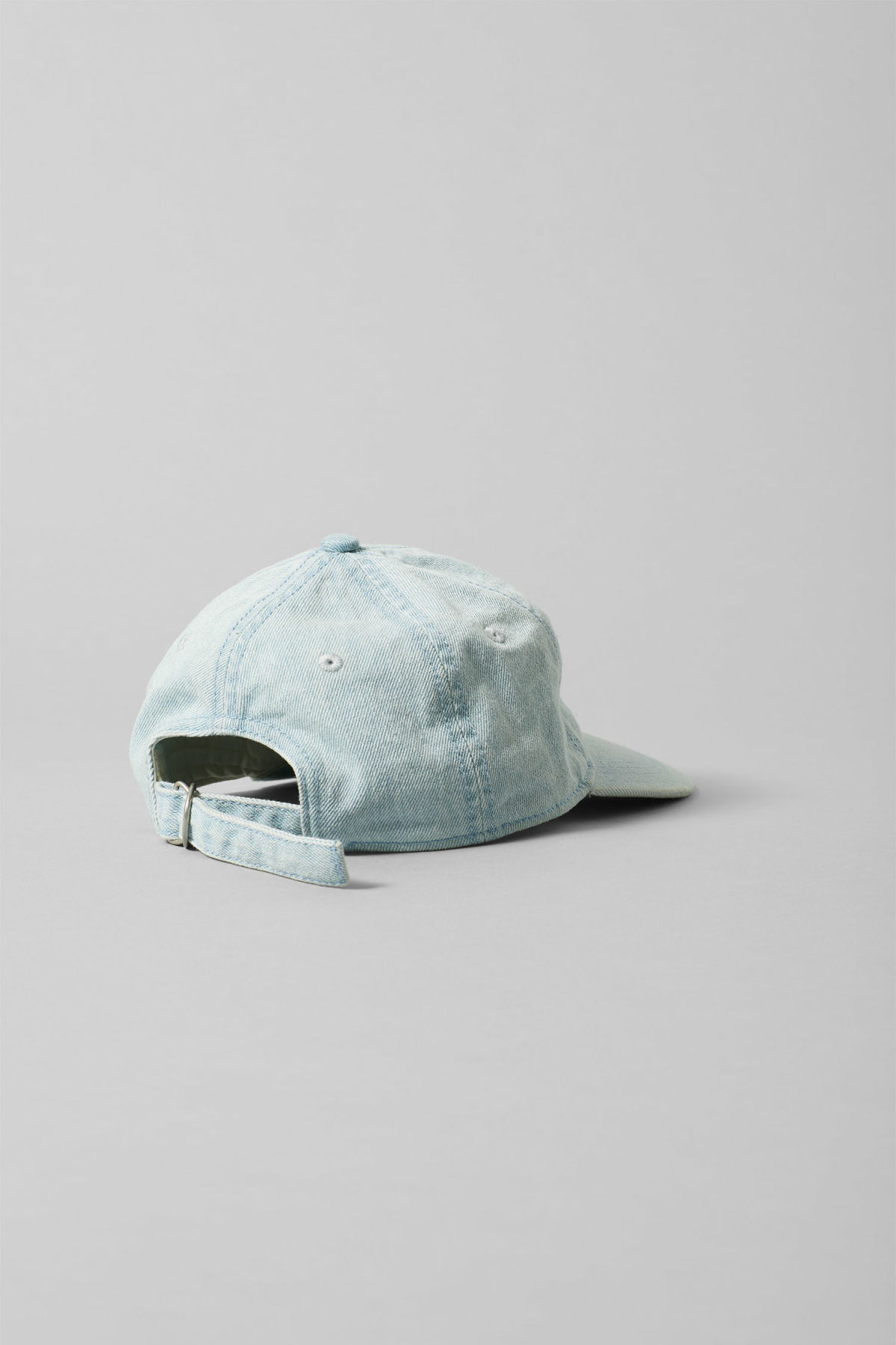 Back image of Weekday cusp cap  in blue
