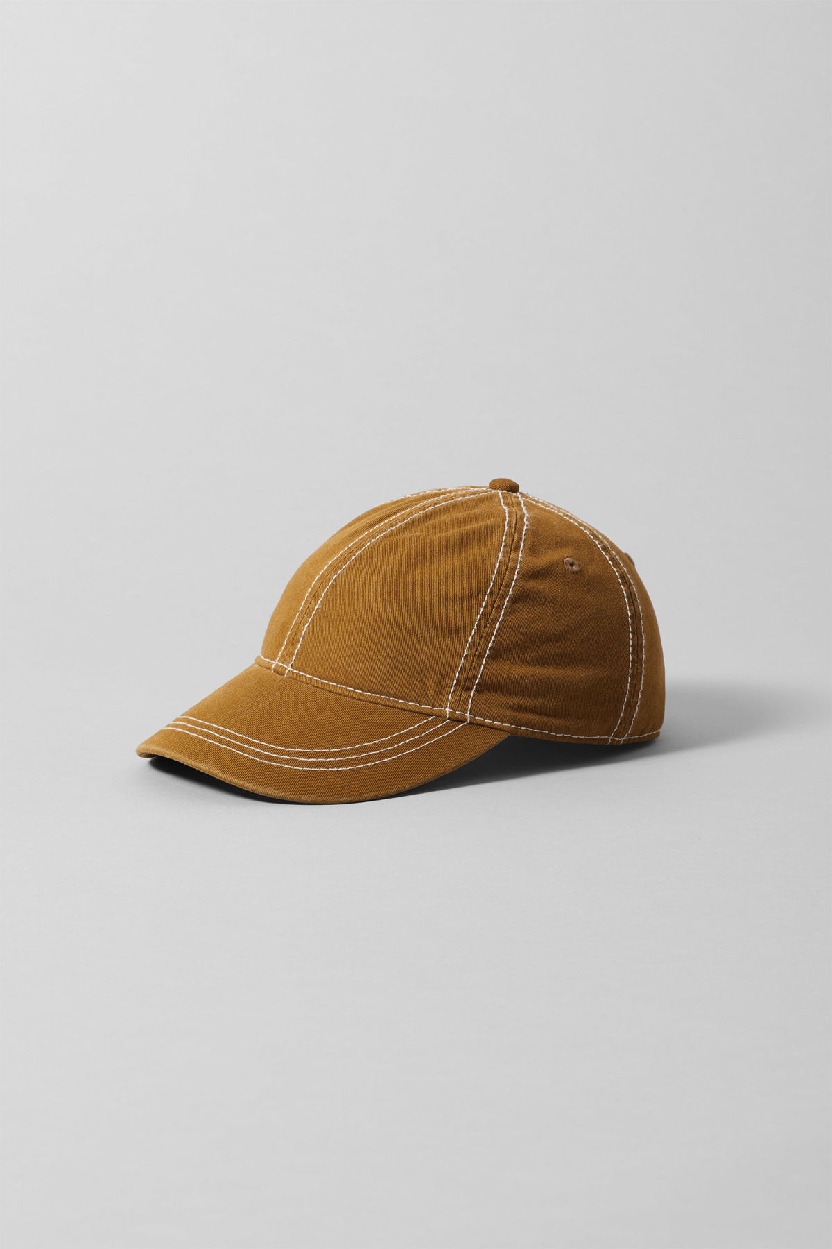 Front image of Weekday cusp cap  in yellow