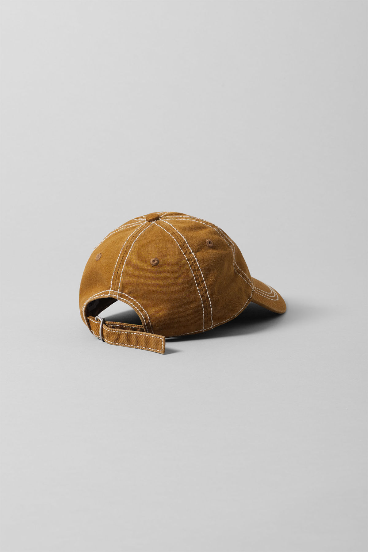 Back image of Weekday cusp cap  in yellow