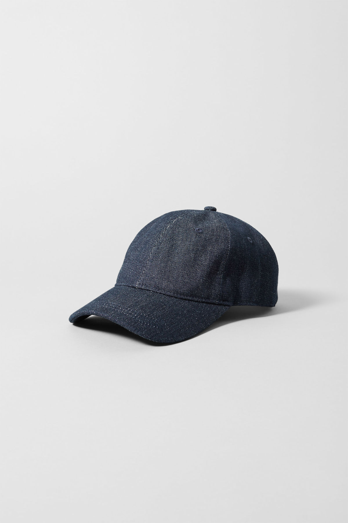 Front image of Weekday cusp cap  in blue