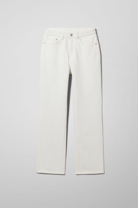 Weekday Voyage Loved White Jeans