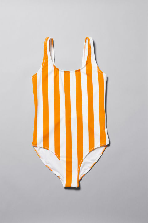 Weekday Day Striped Swimsuit