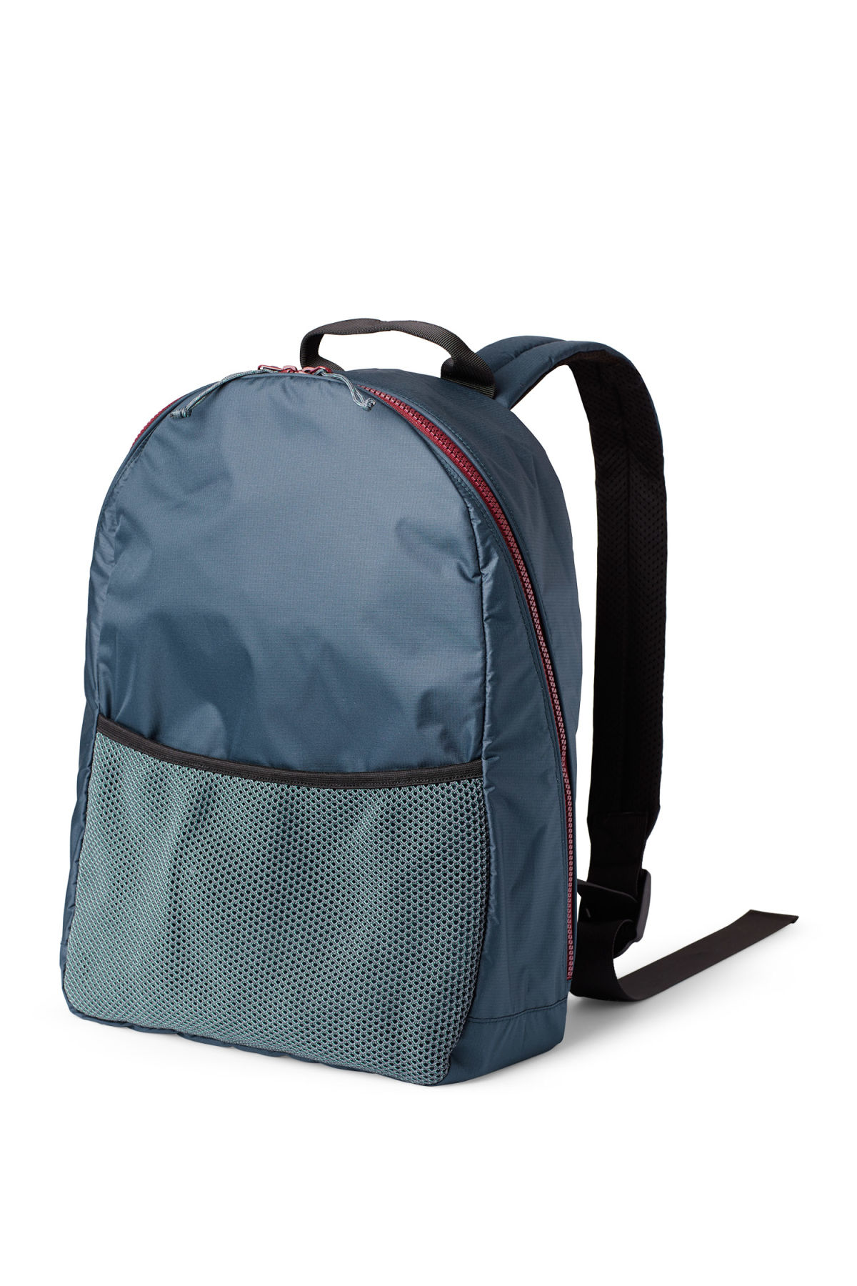 Front image of Weekday pluto backpack in blue