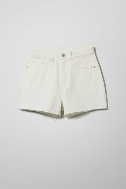 Weekday Row Shorts White