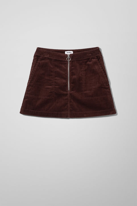 Weekday Piet Mini Skirt