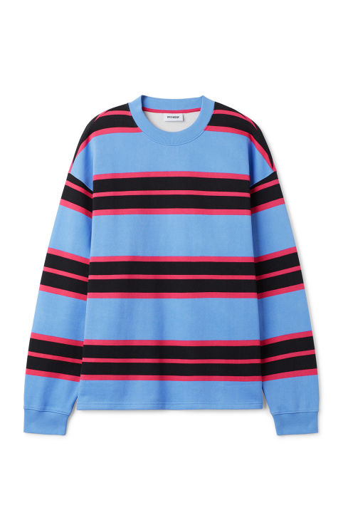 Weekday Sid Striped Sweatshirt