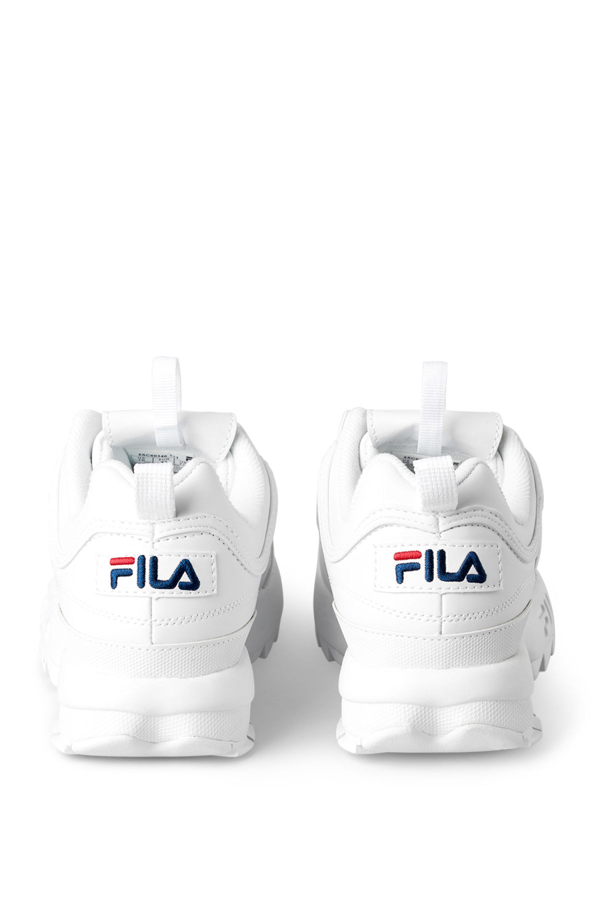 Back image of Weekday f disruptor low in white