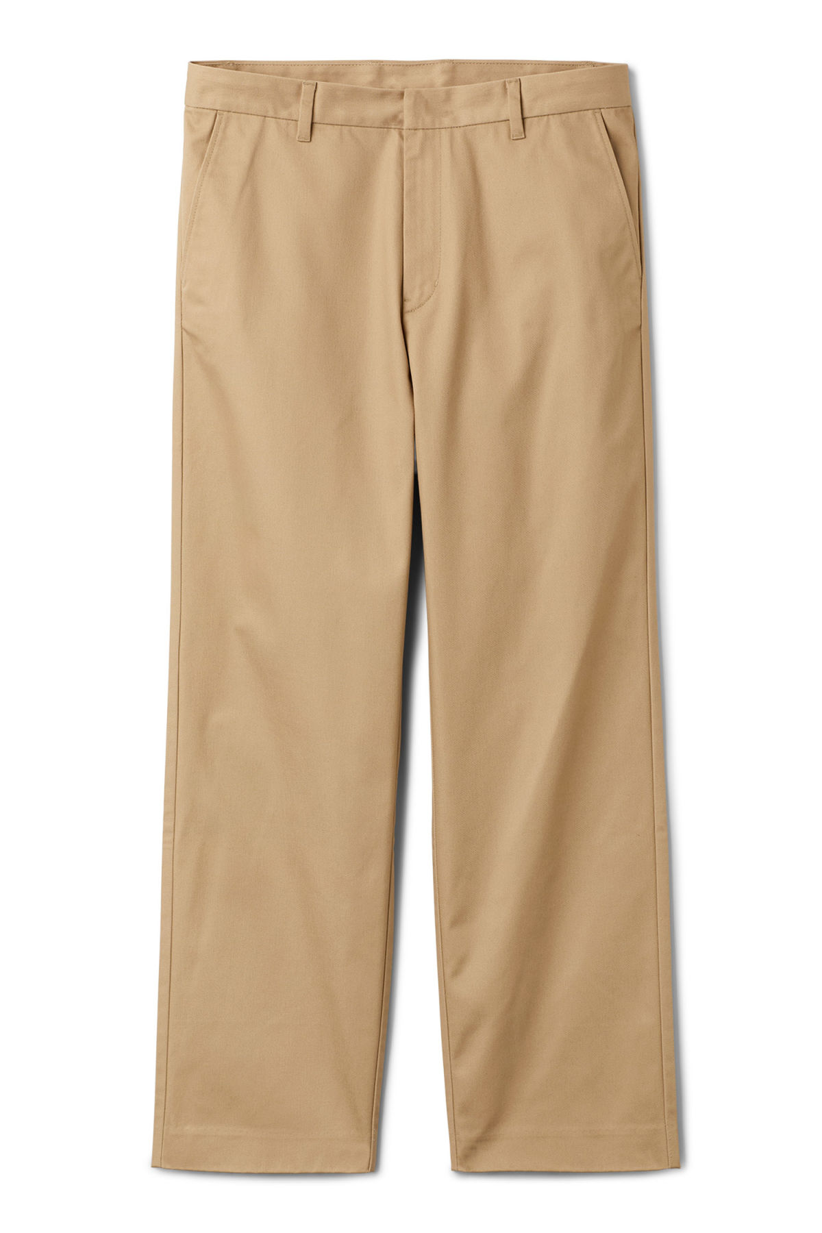 Front image of Weekday redwood chinos in beige