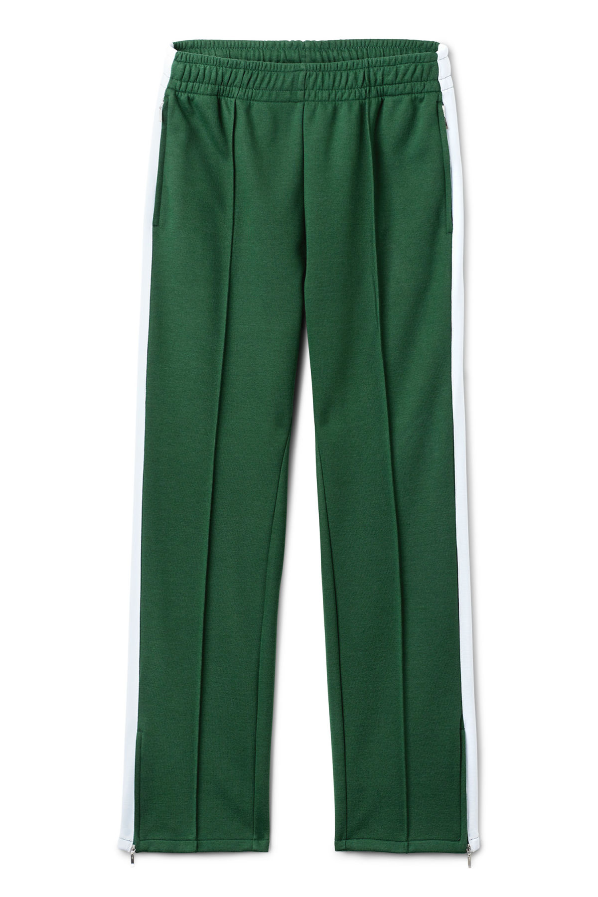 Front image of Weekday local sweatpants in green