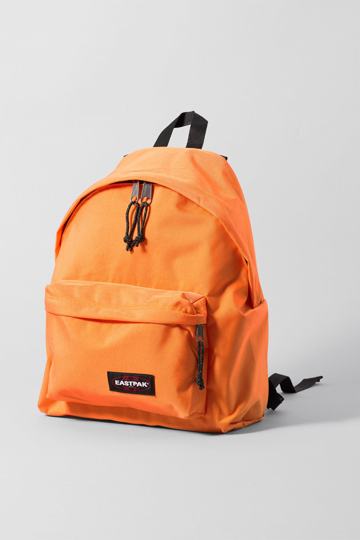 Front image of Weekday padded pakr in orange