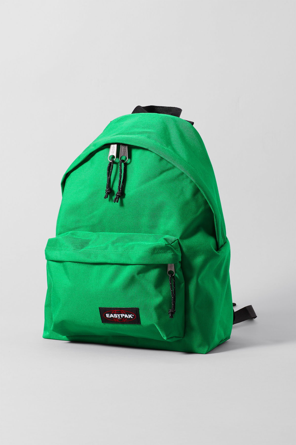 Front image of Weekday padded pakr in green