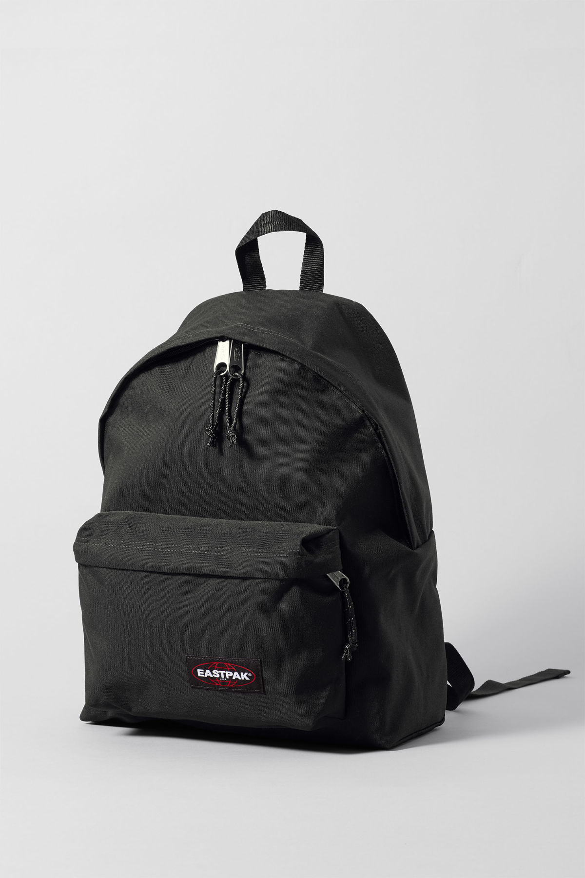 Front image of Weekday padded pakr in black