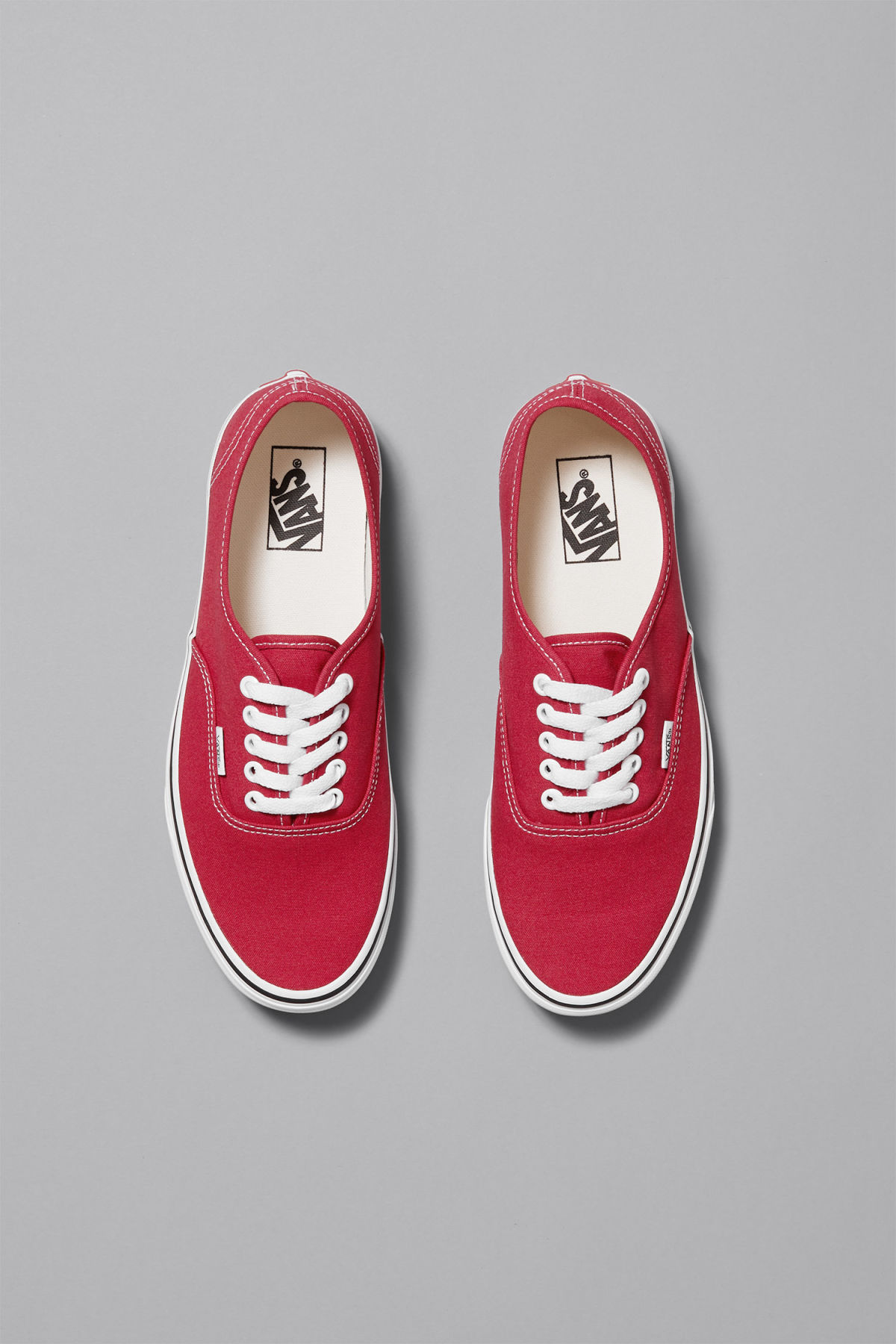 Back image of Weekday authentic shoes  in red