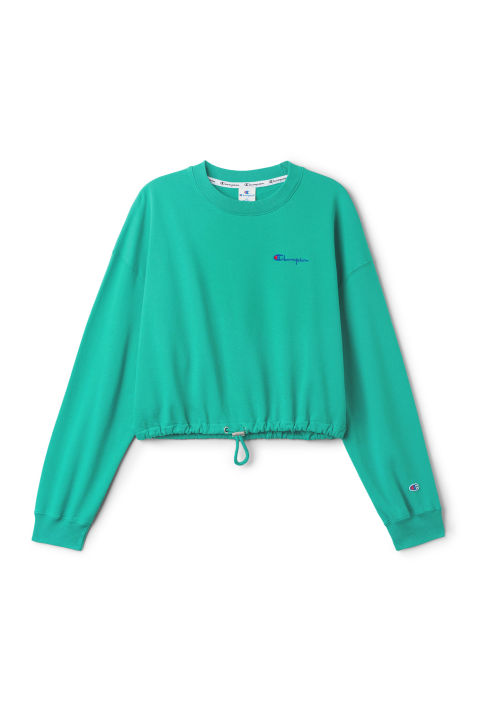 Champion Curl Cropped Sweatshirt