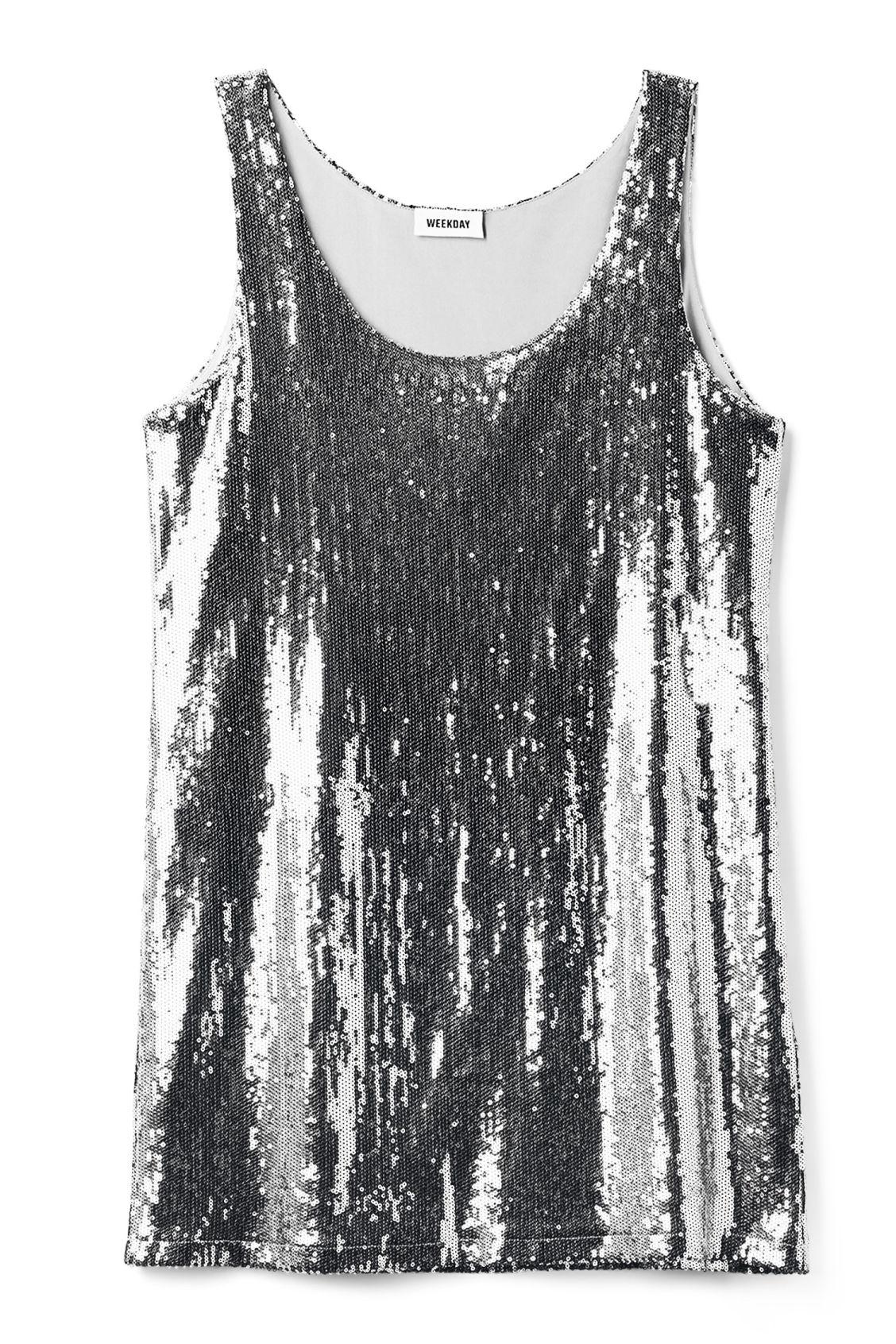 6451ba1df94 Keen Dress - Silver - Dresses   Jumpsuits - Weekday