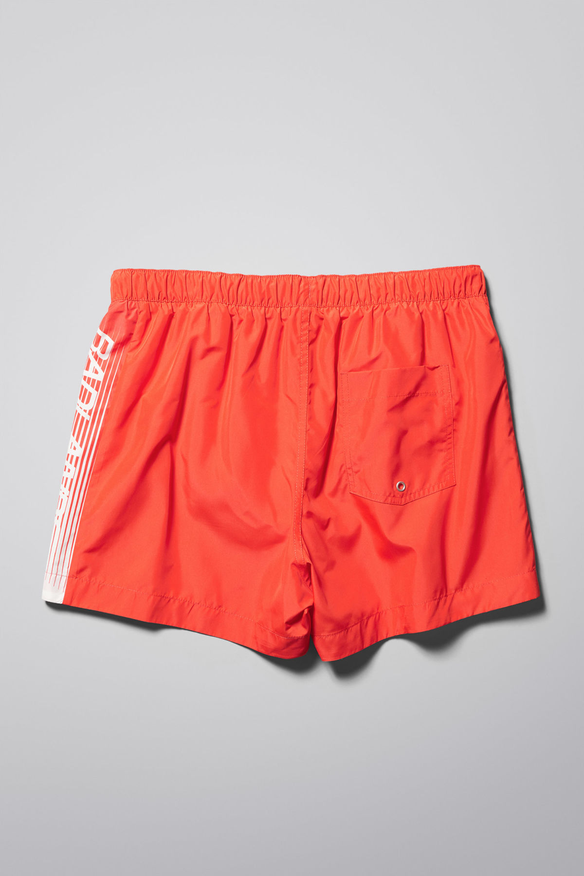Back image of Weekday newton swim shorts in orange