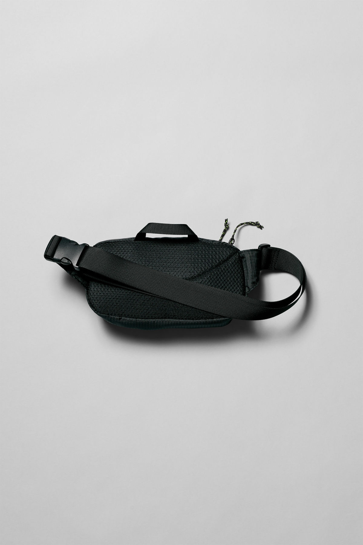 Back image of Weekday trip mini waist bag in black