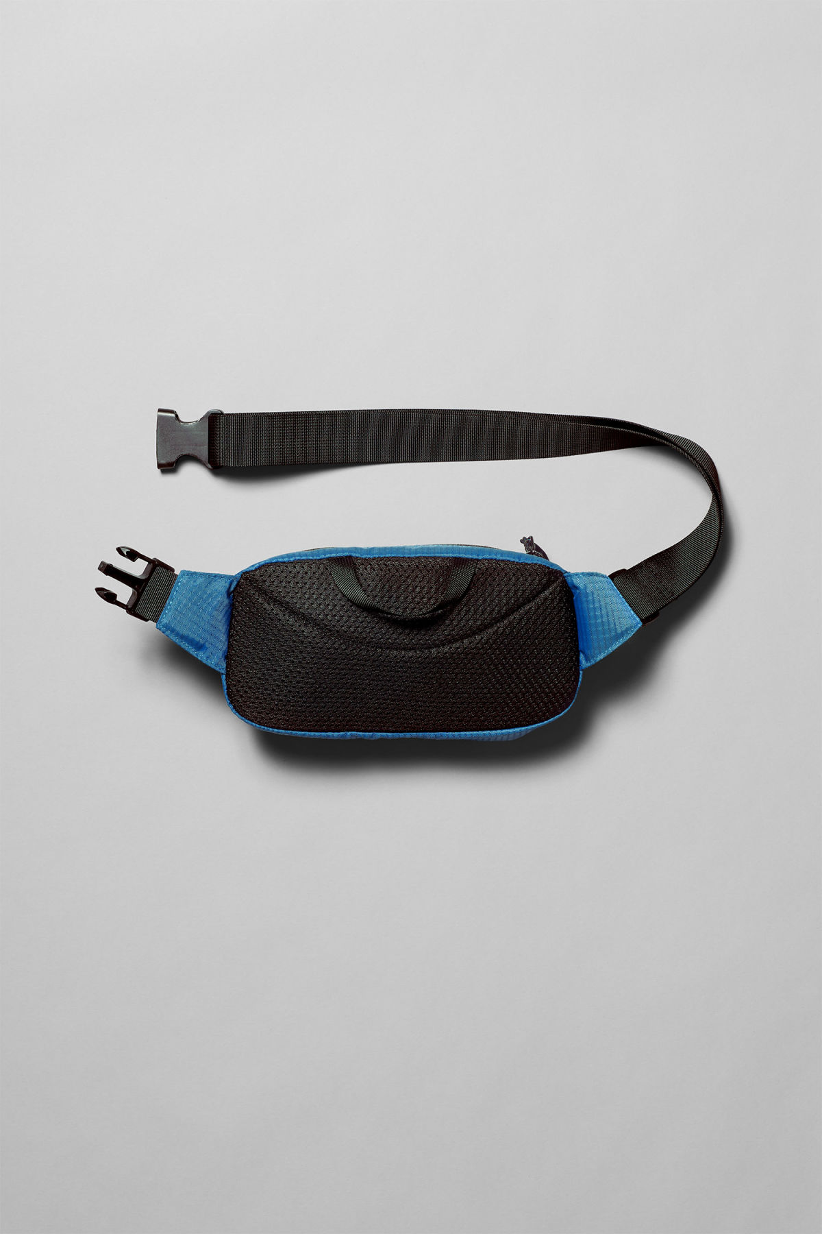 Back image of Weekday trip mini waist bag in blue