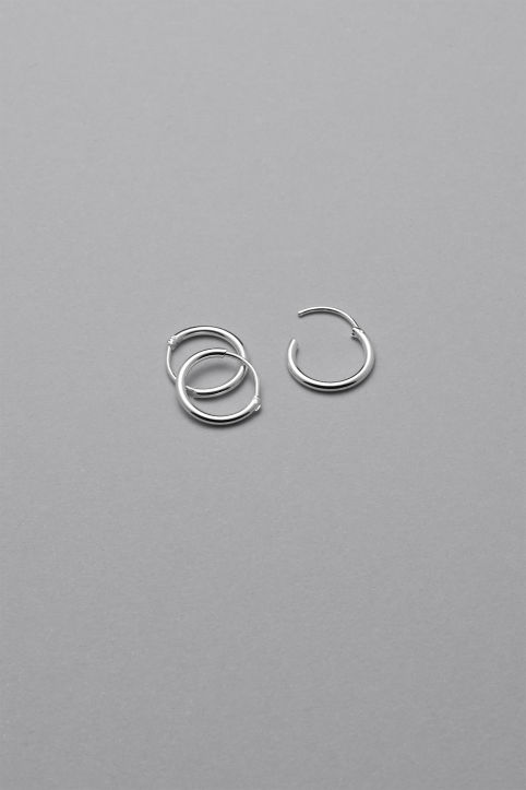 Weekday Tiny Hoop Earrings