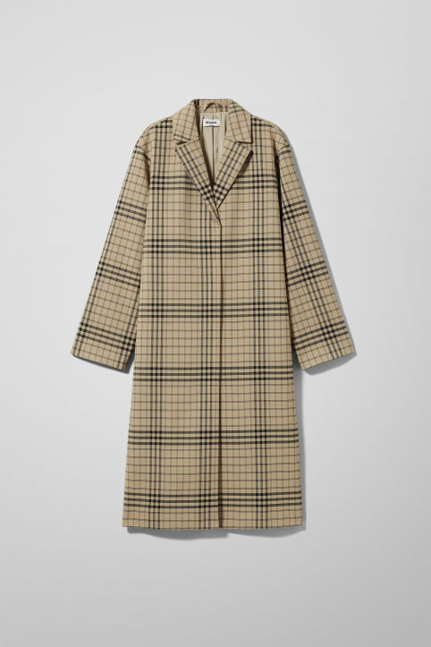 Weekday Lond Checked Coat