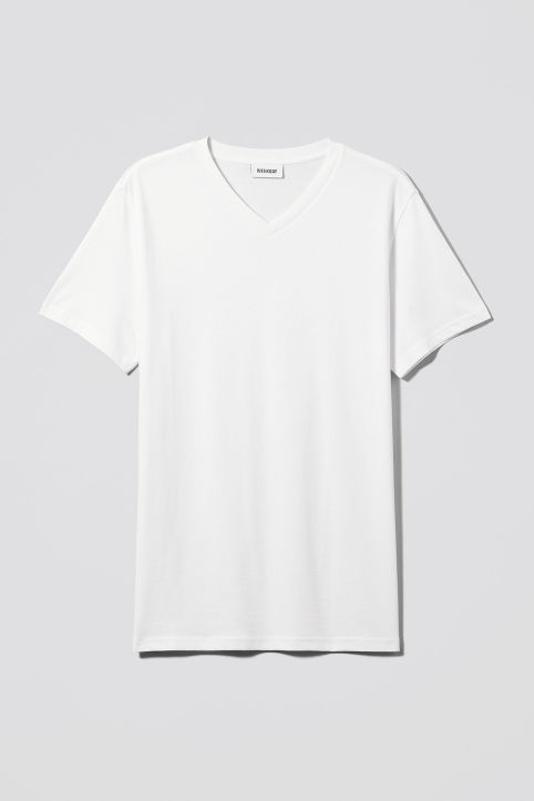 Weekday Alan V-neck T-shirt
