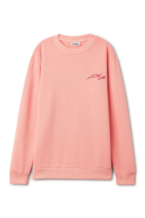 Weekday Steve Printed Sweatshirt