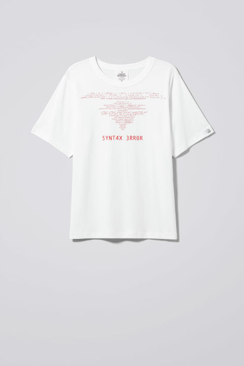 Cheap Monday Boxer Program Error Tee