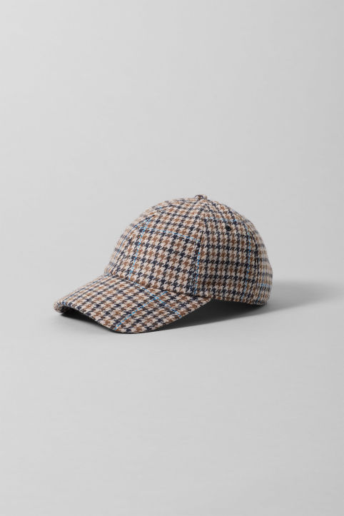 weekday Checked Cap
