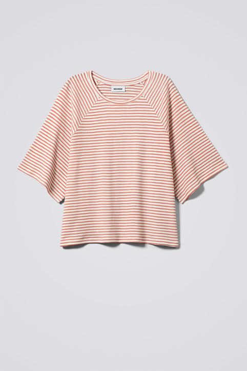 Weekday Base Boxy Striped T-shirt
