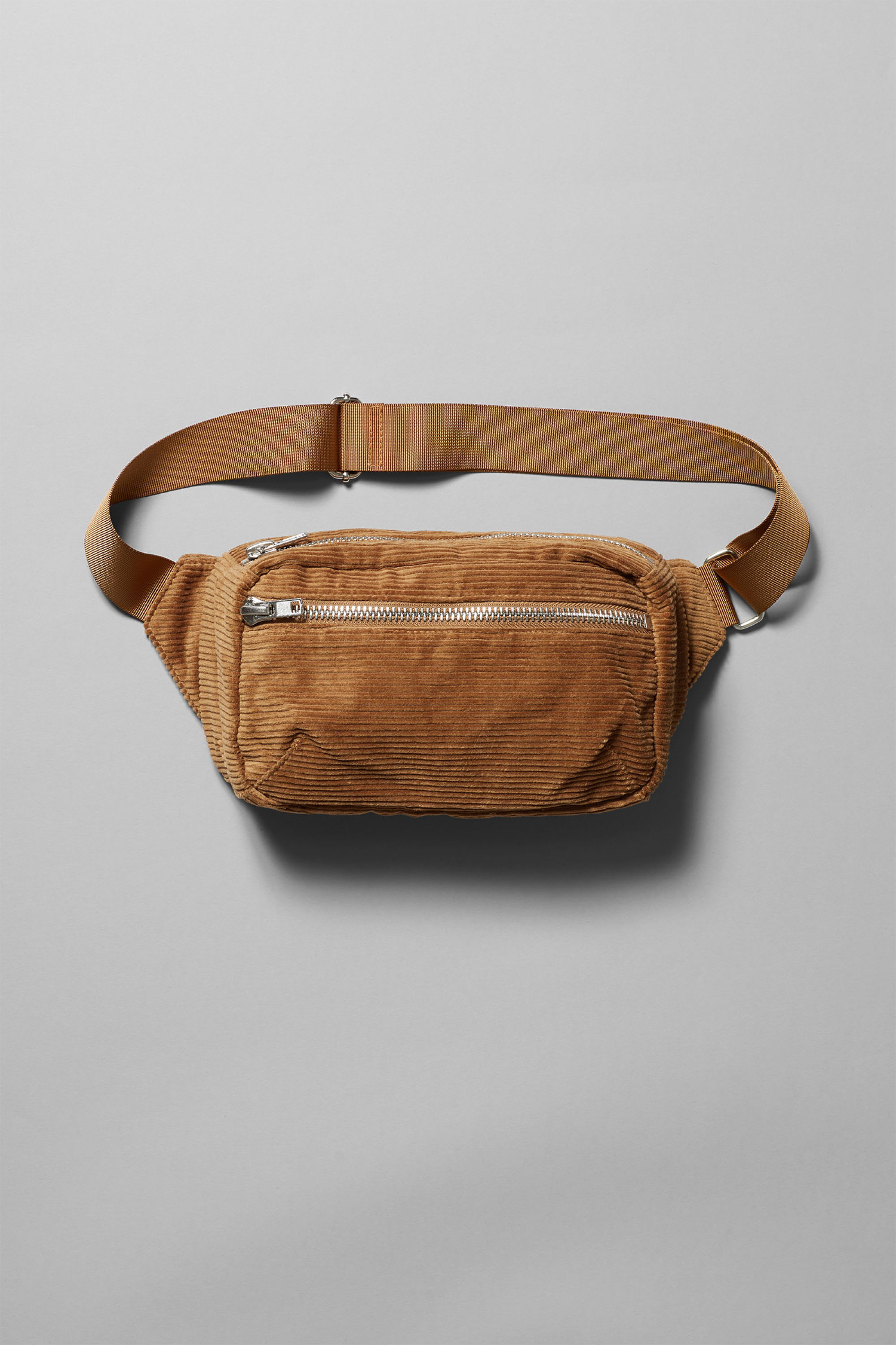 Weekday Wood Cord Waist Bag
