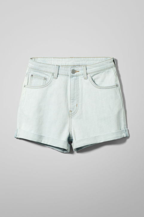 Weekday Newday Bleached Shorts
