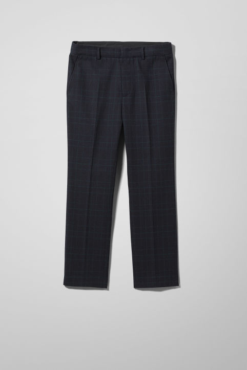 Weekday Charlie Checked Trousers