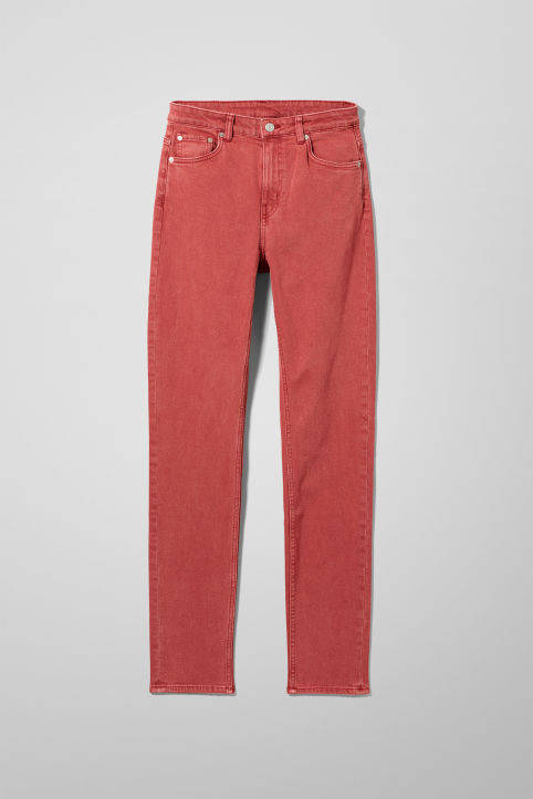 Weekday Way Red Jeans