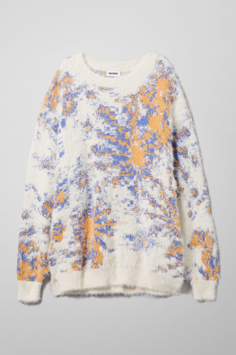 Weekday Lynsi Jacquard Sweater